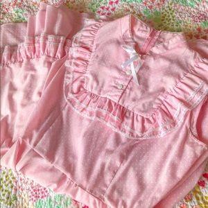 Vintage Pretty In Pink Dress